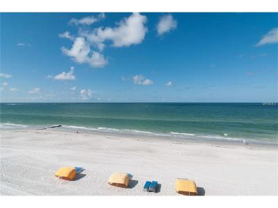 Madeira Beach Condo For Sale: 14110 Gulf Boulevard #302
