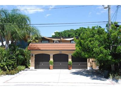 Saint Pete Beach, St Pete Beach Single Family Home For Sale: 7825 Boca Ciega Drive