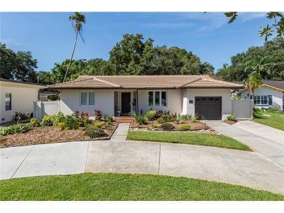St Petersburg Single Family Home For Sale: 851 Snell Isle Boulevard NE