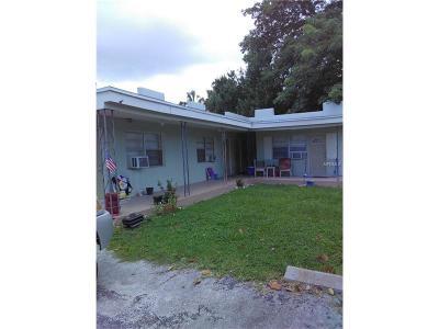 Madeira Beach Multi Family Home For Sale: 129 143rd Avenue E