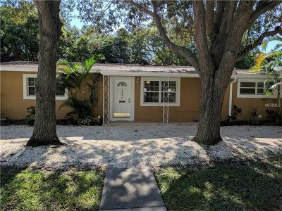 St Petersburg Single Family Home For Sale: 4095 Locust Street NE