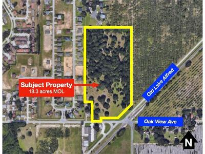 Auburndale Residential Lots & Land For Sale: Old Lake Alfred Road