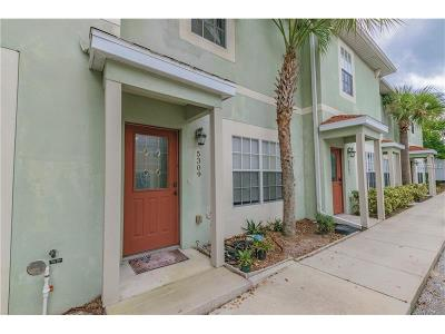 Temple Terrace Townhouse For Sale: 5309 Terraza Court