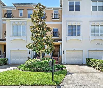 St Petersburg Townhouse For Sale: 1182 Venetian Harbor Drive NE