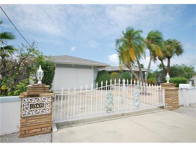 St Pete Beach Single Family Home For Sale: 8030 Coquina Way