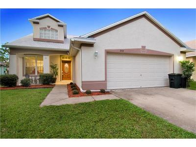 oldsmar Single Family Home For Sale: 555 Lake Cypress Circle
