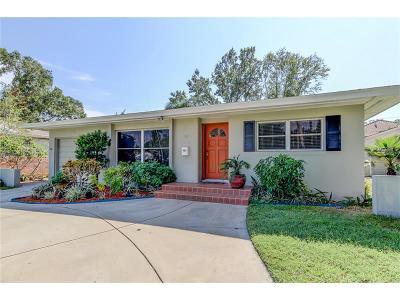 St Petersburg Single Family Home For Sale: 735 Snell Isle Boulevard NE