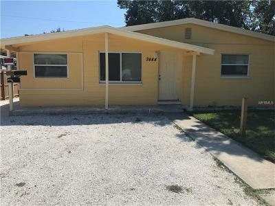St Petersburg Single Family Home For Sale: 2444 37th Street S