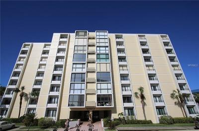 Clearwater Beach Condo For Sale: 800 S Gulfview Boulevard #401