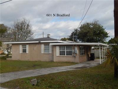 Tampa Single Family Home For Sale: 601 N Bradford Avenue