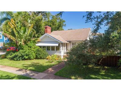 St Petersburg Multi Family Home For Sale: 1515 Oak Street NE