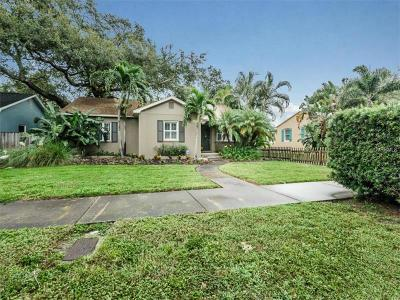 St Petersburg Single Family Home For Sale: 1617 14th Street N