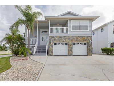 New Port Richey Single Family Home For Sale: 6101 Bayside Drive