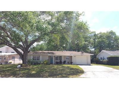 Belleair Bluffs Single Family Home For Sale: 2192 Belmar Drive