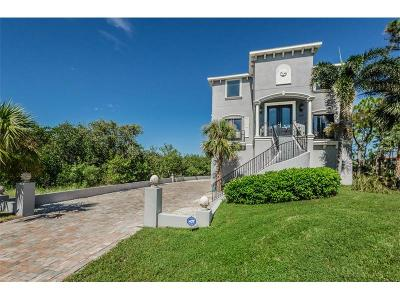 Tarpon Springs Single Family Home For Sale: 1602 Seabreeze Drive