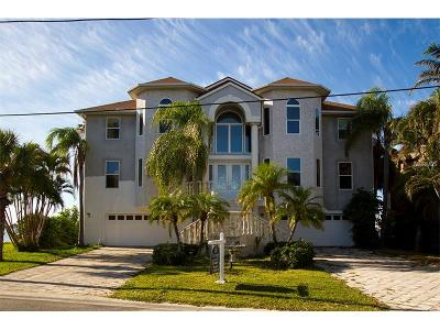 Belleair, Belleair Bluffs Single Family Home For Sale: 25 Sunset Bay Drive