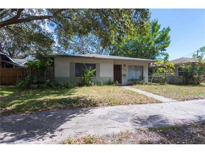 St Petersburg Single Family Home For Sale: 2625 13th Street N
