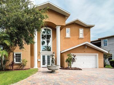 Belleair, Belleair Beach, Belleair Bluffs Single Family Home For Sale: 44 Sunset Bay Drive
