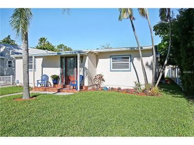 St Pete Beach Single Family Home For Sale: 615 78th Avenue