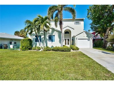 Indian Rocks Beach Single Family Home For Sale: 314 10th Avenue