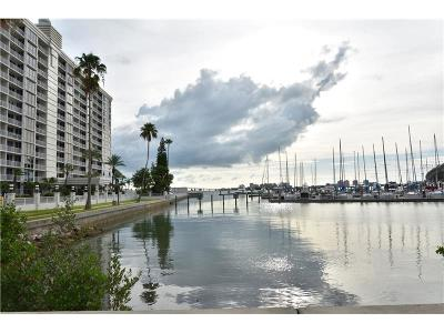 Cleasrwater, Clearwater, Clearwater` Condo For Sale: 100 Pierce Street #1209