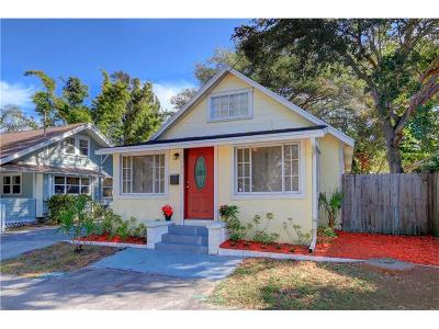 St Petersburg Single Family Home For Sale: 1001 8th Street N