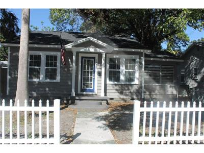 St Petersburg Single Family Home For Sale: 1651 22nd Avenue N