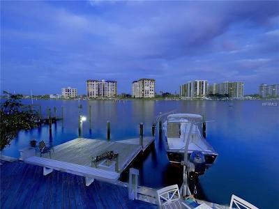 Clearwater, Clearwater Beach Single Family Home For Sale: 711 Bay Esplanade