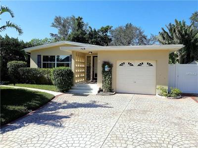 Clearwater Single Family Home For Sale: 928 Narcissus Avenue