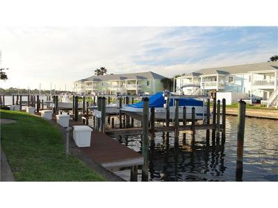 Waterside At Coquina Key, Waterside At Coquina Key Dock Condo, Waterside At Coquina Key North Condo, Waterside At Coquina Key South Condo Single Family Home For Sale: 4927 Cobia Drive SE #11SS