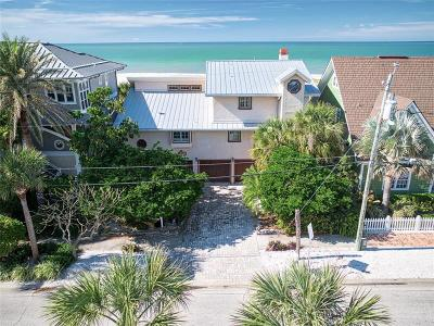Clearwater Beach FL Single Family Home For Sale: $2,800,000