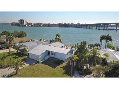 St Pete Beach Single Family Home For Sale: 596 Belle Point Drive