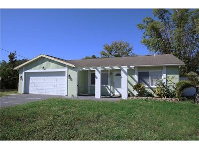St Petersburg Single Family Home For Sale: 621 Bamboo Drive S
