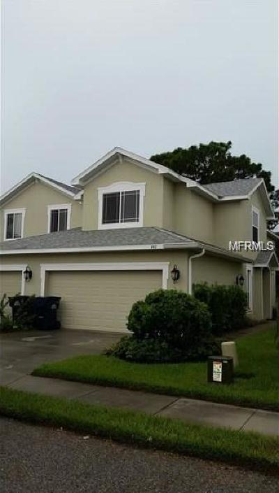 Palm Harbor Townhouse For Sale: 442 Harbor Ridge Dr.