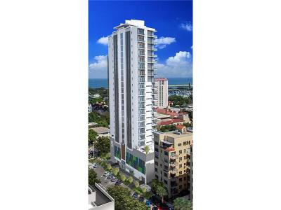 St Petersburg Condo For Sale: 100 4th Avenue N #14-A8