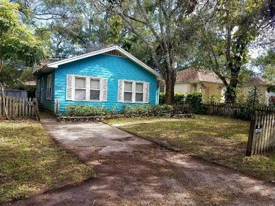 St Petersburg FL Single Family Home For Sale: $90,000