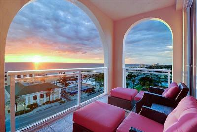 Clearwater Beach Condo For Sale: 501 Mandalay Avenue #1002