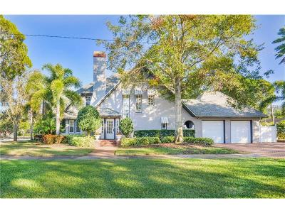 St Petersburg Single Family Home For Sale: 2865 Boca Ciega Drive N