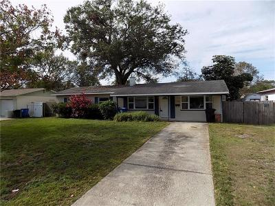 St Petersburg Single Family Home For Sale: 2796 57th Street N