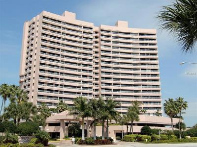Clearwater Beach Condo For Sale: 1340 Gulf Boulevard #19D