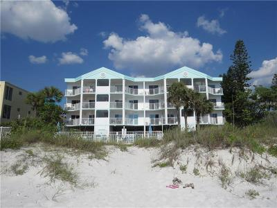 Indian Rocks Beach Condo For Sale: 24 Gulf Boulevard #2D