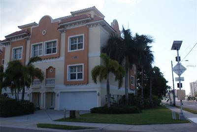 Redington Shores Townhouse For Sale: 103 175th Avenue E