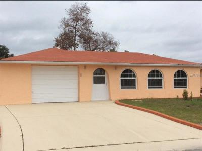 Port Richey Single Family Home For Sale: 7629 Dale Drive