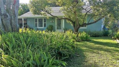 Gulfport FL Single Family Home For Sale: $274,900