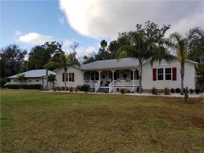 New Port Richey Single Family Home For Sale: 4403 Trouble Creek Road