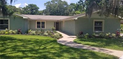 Clearwater Single Family Home For Sale: 1659 Robinhood Lane