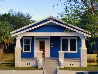 Tampa Single Family Home For Sale: 3021 Sanchez Street