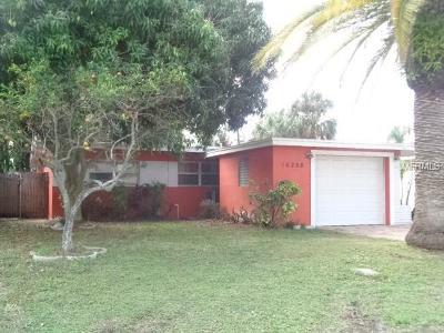 Redington Beach Single Family Home For Sale: 16208 2nd Street E