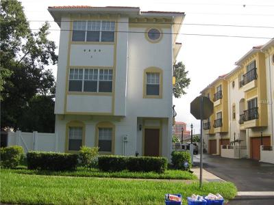 Tampa Townhouse For Sale: 4409 W Gray Street #4