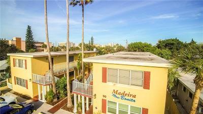 Madeira Beach Condo For Sale: 90 144th Avenue #8